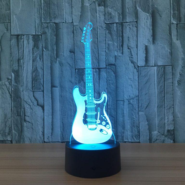 Electric Guitar 3D Illusion Lamp