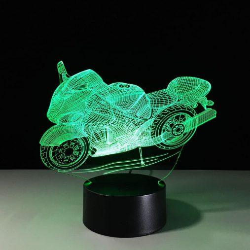 Superbike 3D Illusion Lamp