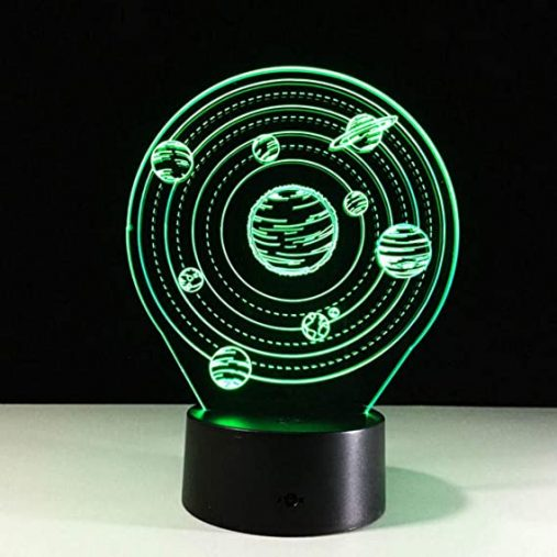 Solar System 3D Illusion Lamp