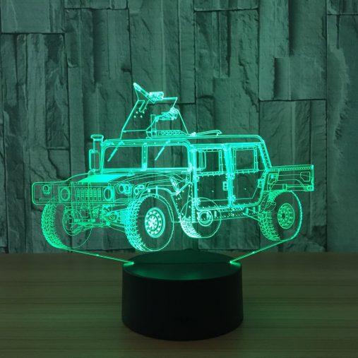 Humvee 3D Illusion Led Lamp