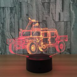 Humvee 3D Illusion Led Lamp