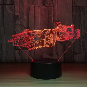 Formula 1 3D Illusion Lamp