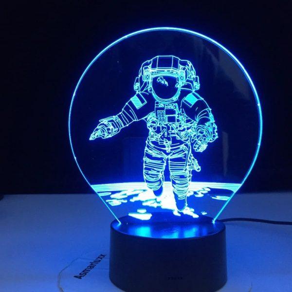 Astronaut 3D Illusion Lamp