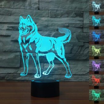Husky 3D Illusion Led Lamp 2