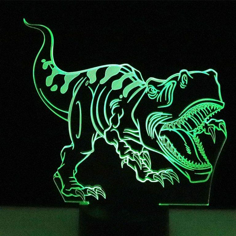 T-rex 3D Illusion Led Lamp