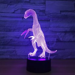 Therizinosaurus 3D Illusion Led Lamp