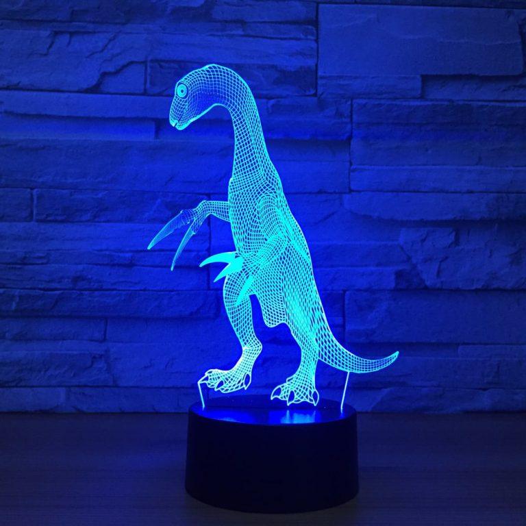 Therizinosaurus 3D Illusion Led Lamp