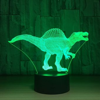 Spinosaurus aegyptiacus 3D Illusion Led Lamp
