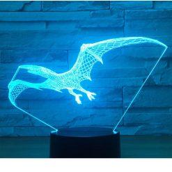 Pterodactyl 3D Illusion Led Lamp