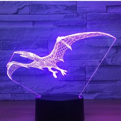 Pterodactyl 3D Illusion Led Lamp