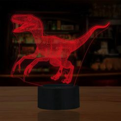Neue Dinosaurier 3D Illusion Led Lampen