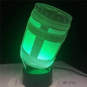 Chug 3D Illusion Led Lamp