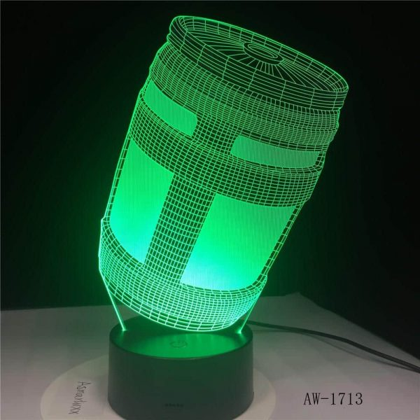 Chug 3D Illusion Led Lamp