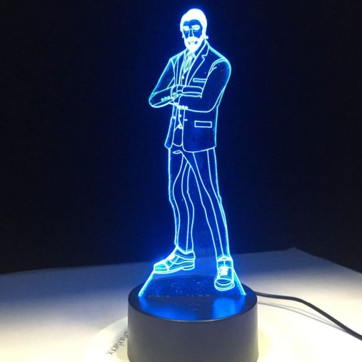 Reaper 3D Illusion Led Lamp