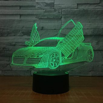 Audi 3D Illusion Led Lamp