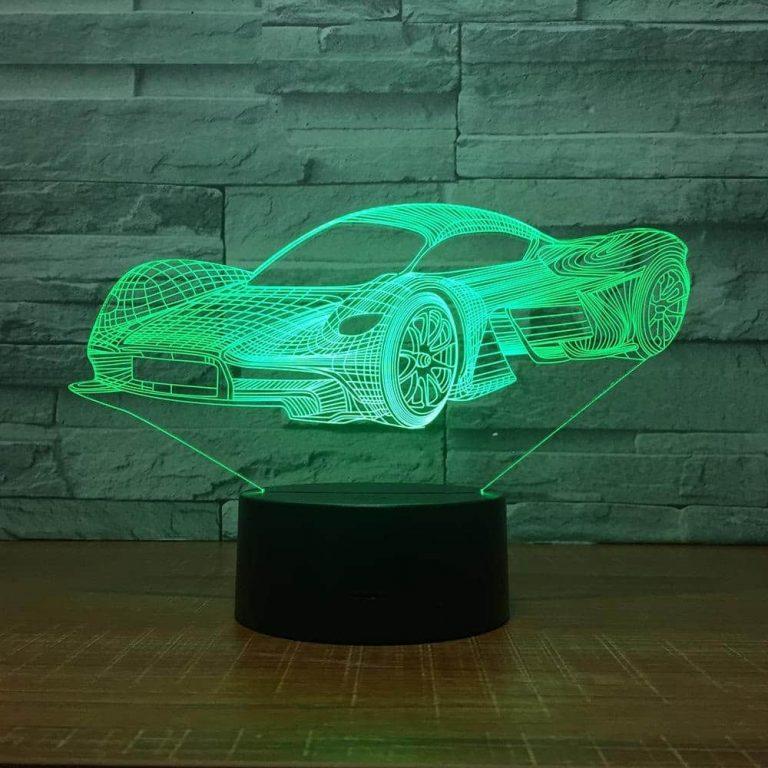 Supercar 3D Illusion Led Lamp