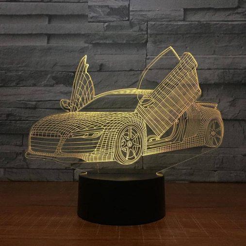 Audi 3D Illusion Led Lamp