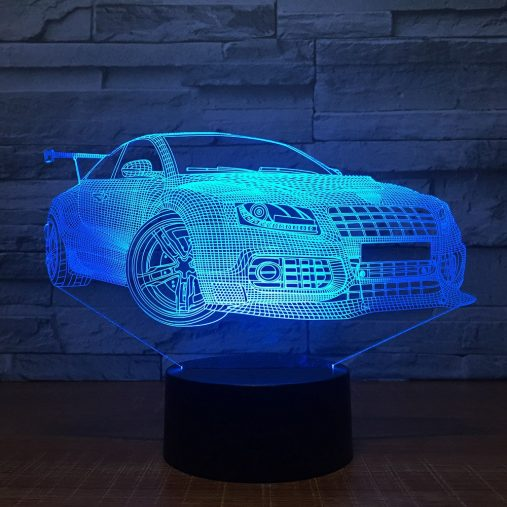 Audi S4 3D Illusion Led Lamp