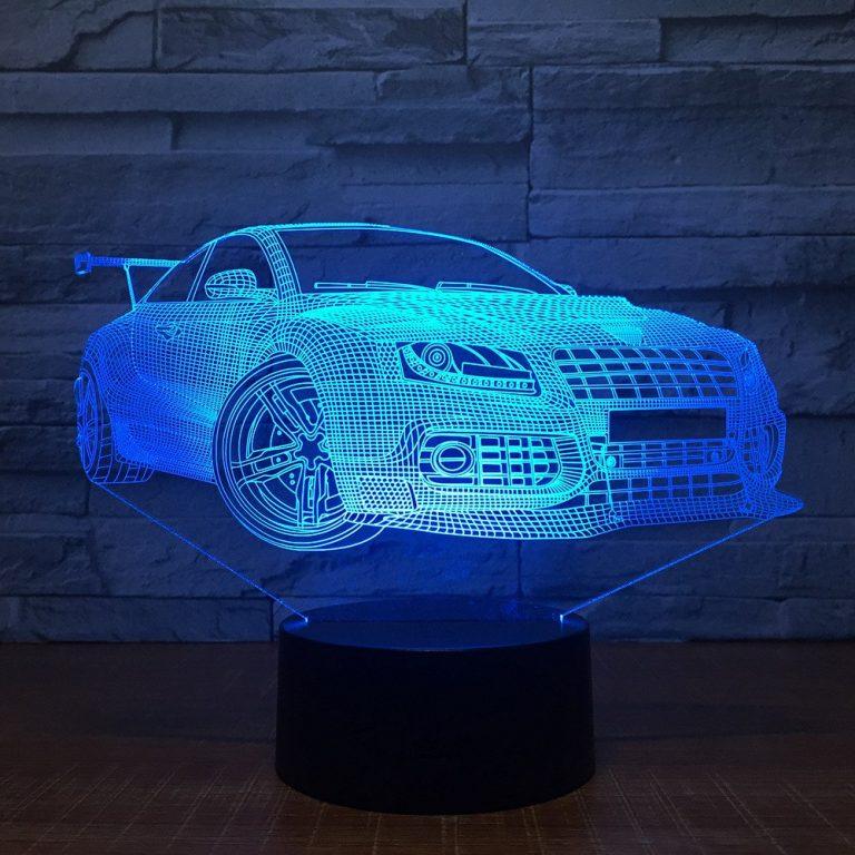 Audi S4 3D Illusion Led Lamp