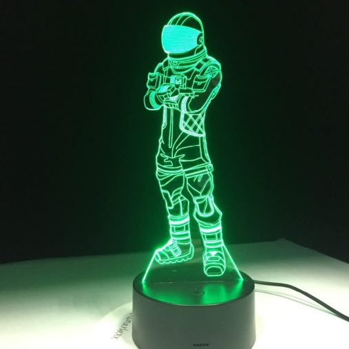 Voyager 3D Illusion Led Lamp