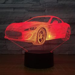 Aston Martin 3D Illusion Led Lamp