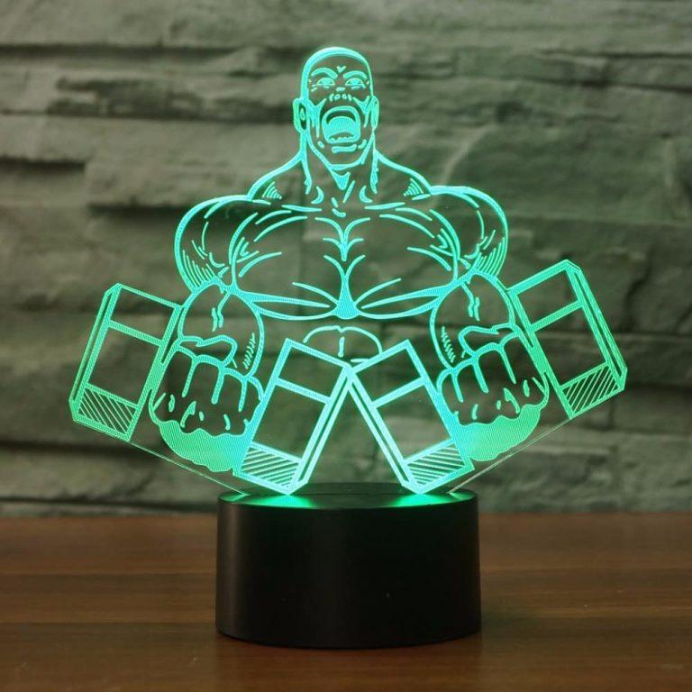 Bodybuilding 3D Illusion Led Lamp 8