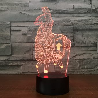 Supply Llama 3D Illusion Led Lamp
