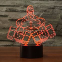 Bodybuilding 3D Illusion Led Lamp 8