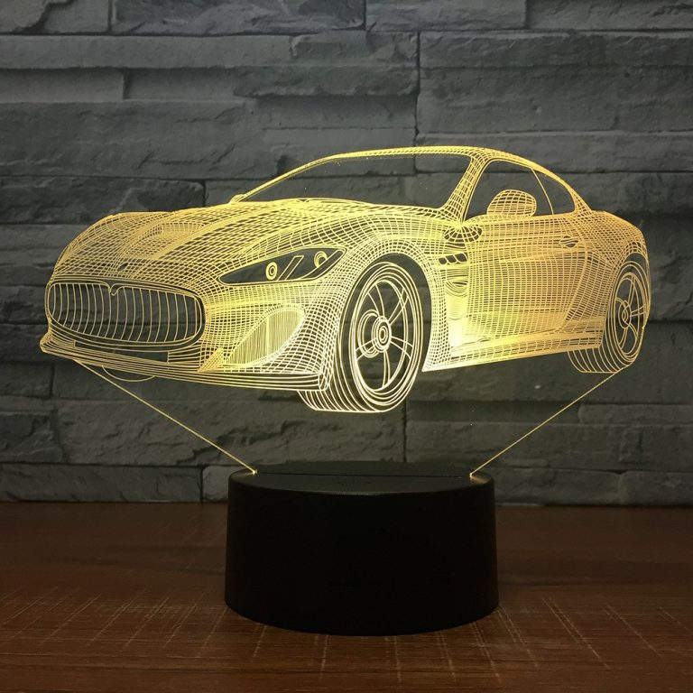 Aston Martin 3D Illusion Led Lamp