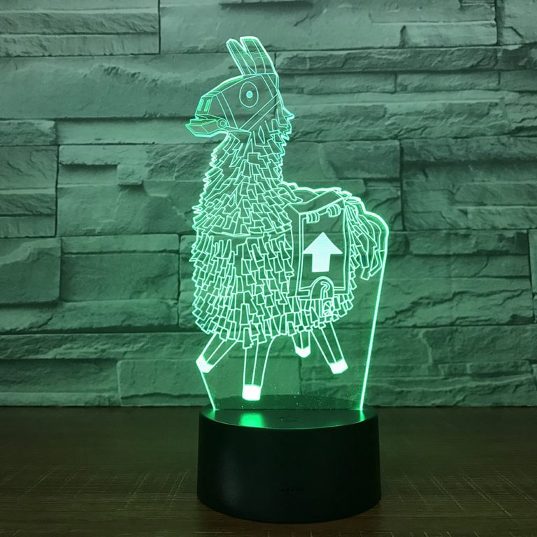 Supply Llama 3D Illusion Led Lamp