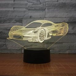 Supercar 3D Illusion Led Lamp