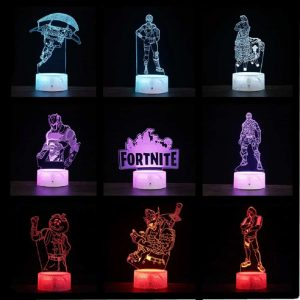 Fortnite night light – 3D Lamp Illusion