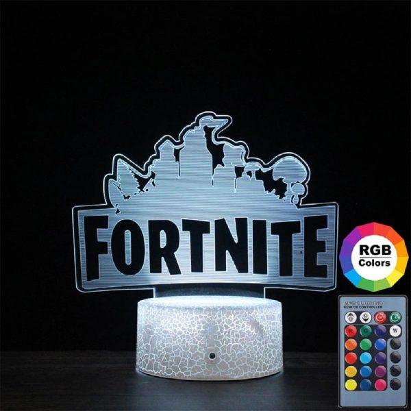 Fortnite night light – 3D Lamp Illusion