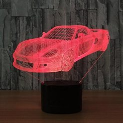 Porsche 3D Illusion Led Lamp