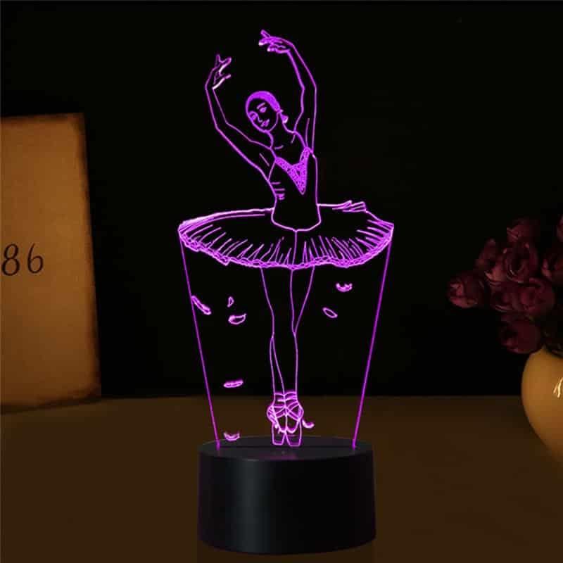 Ballet Girl Necklace