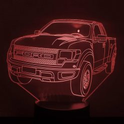 Ford F-150 Raptor 3D Illusion Led Lamp
