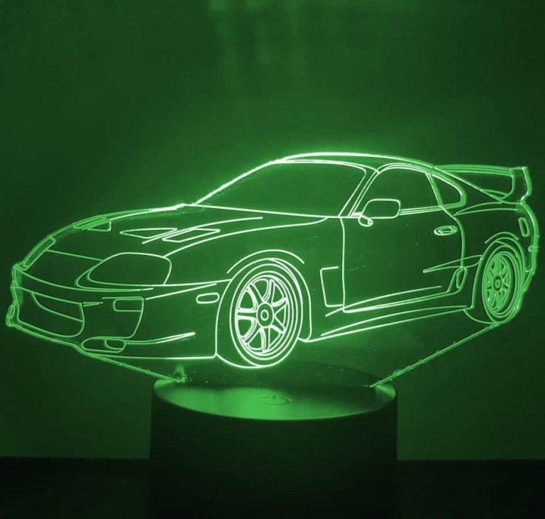 Toyota Supra 3D Illusion Led Lamp