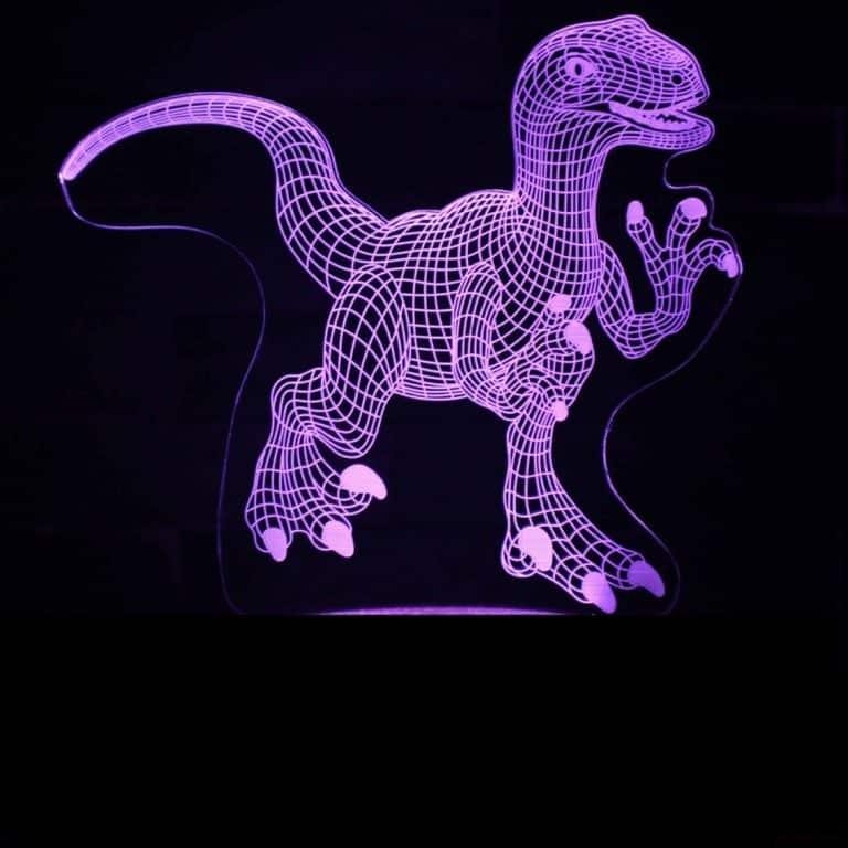 New Dinosaur 3D Illusion Led Lamps