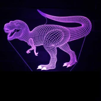 New Dinosaur 3D Illusion Led Lamps