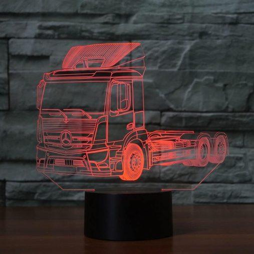 Mercedes Truck 3D Illusion Led Lamp