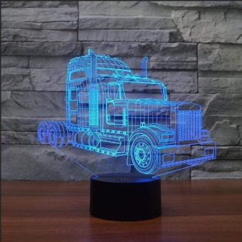 Kenworth W900 LKW 3D Illusion Led Lampe