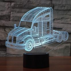 Kenworth Truck 3D Illusion Led Lamp