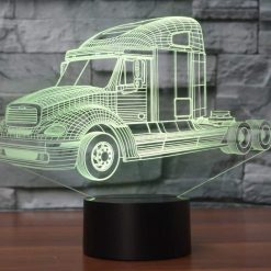 Freightliner Columbia 3D Illusion Led Lamp