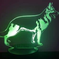 German Shepherd 3D Illusion Lamp