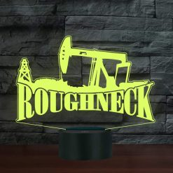 Roughneck Heavy Equipment 3D Illusion Led Lamp