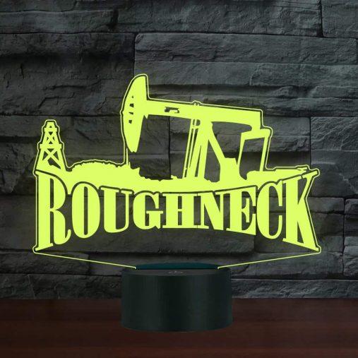 Roughneck Heavy Equipment 3D Illusion Led Lamp