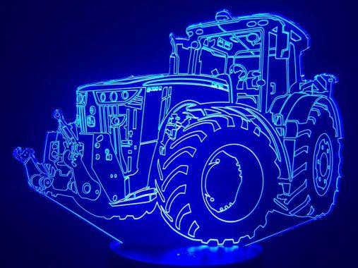 John Deere Tractor 3D Illusion Led Lamp