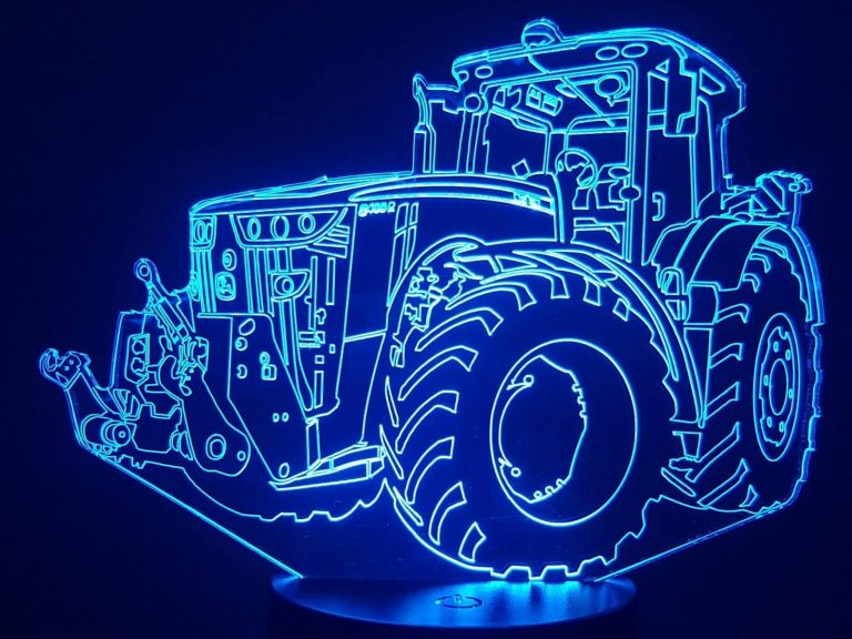 John Deere Tractor 3D Illusion Led Lamp