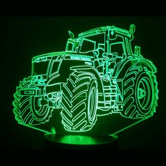 Massey Ferguson traktora 3D ilūzijas gaismas lampa