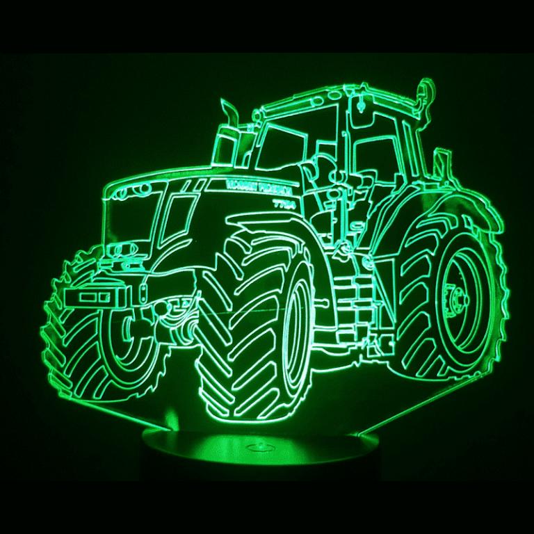Massey Ferguson Tractor 3D Illusion Led Lamp